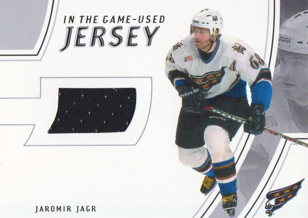 2002-03 ITG Used Jerseys #GUJ7 Jaromir Jagr
