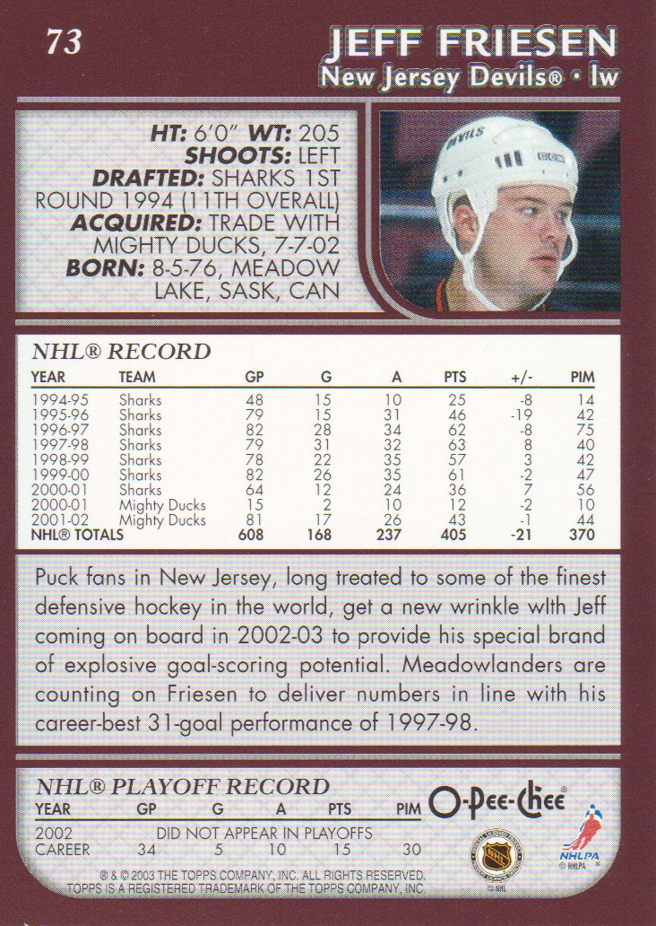 2002-03-O-Pee-Chee-OPC-Hockey-Cards-Pick-From-List thumbnail 11