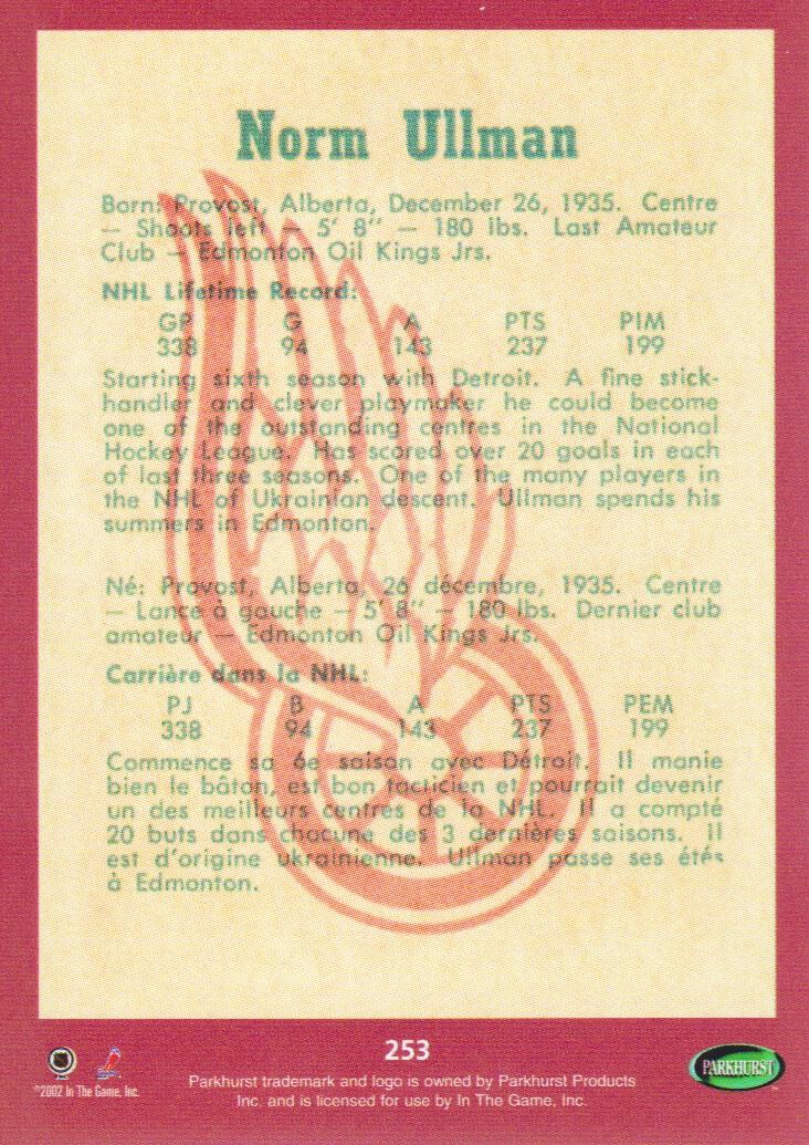 2002-03-Parkhurst-Reprints-Hockey-Cards-Pick-From-List thumbnail 11