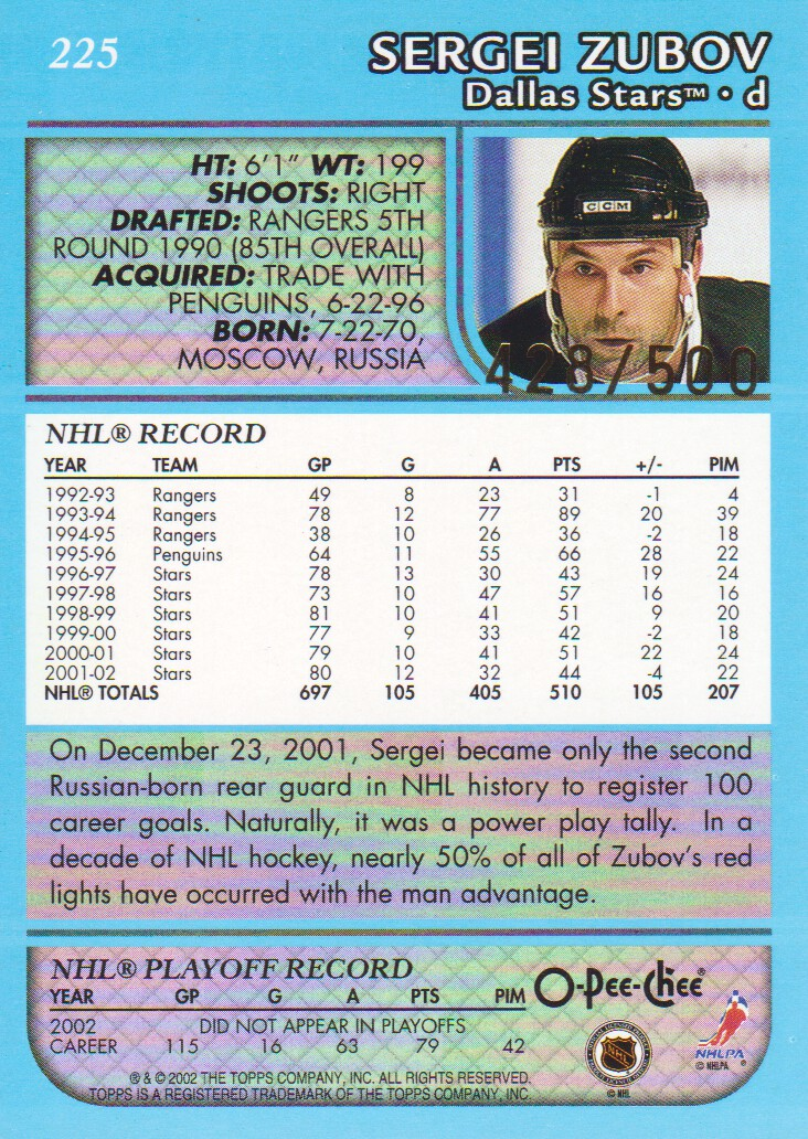 2002-03-O-Pee-Chee-OPC-Blue-Parallel-Hockey-Cards-Pick-From-List thumbnail 13
