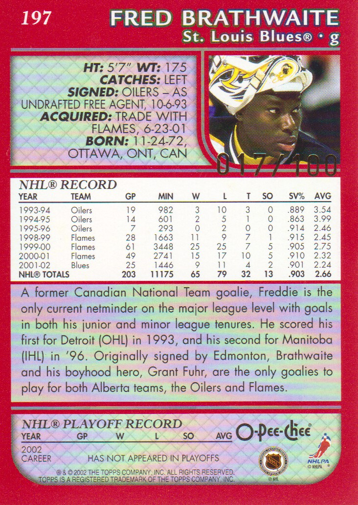 2002-03-O-Pee-Chee-OPC-Red-Parallel-Hockey-Cards-Pick-From-List miniature 5