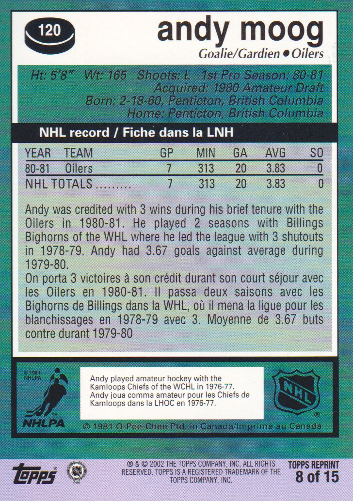 2002-03-Topps-Rookie-Reprint-Hockey-Cards-Pick-From-List miniature 7