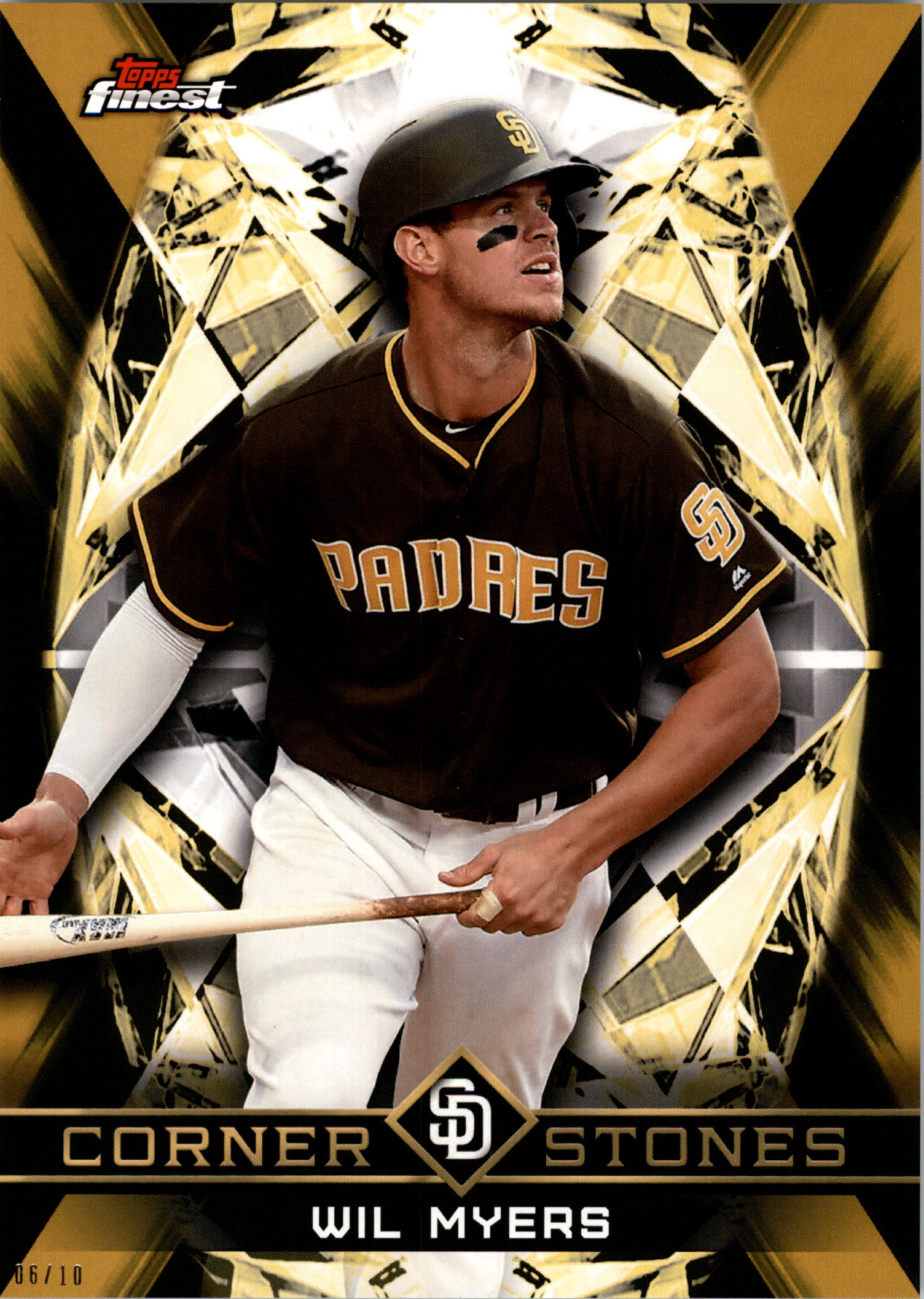 2018 Finest 5x7 Cornerstores Gold #FCWM Wil Myers