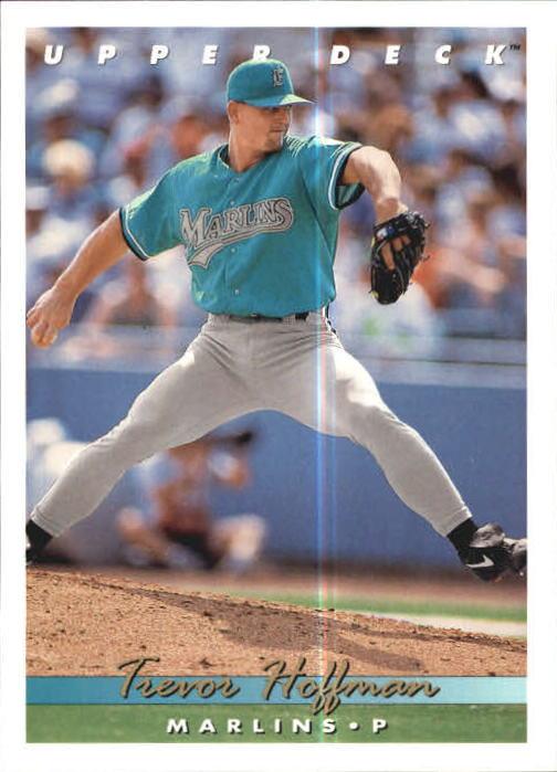 Details About 1993 Upper Deck Baseball Card 773 Trevor Hoffman Marlins R16769