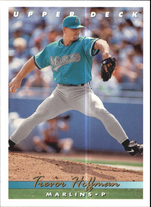 Details About 1993 Upper Deck Baseball Card 773 Trevor Hoffman Marlins R16770