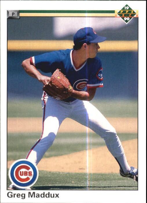 Details About 1990 Upper Deck Baseball Card 213 Greg Maddux Cubs R17918