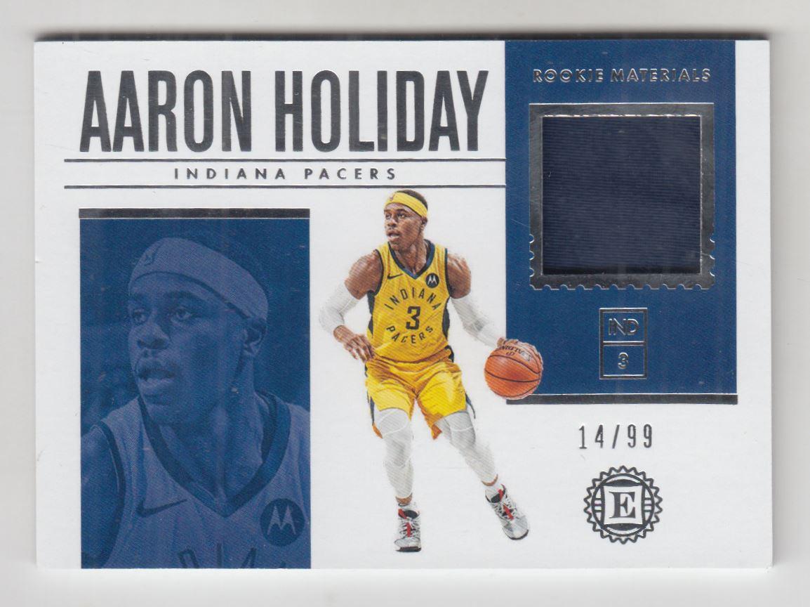 2018-19 Panini Encased Rookie Materials #23 Aaron Holiday