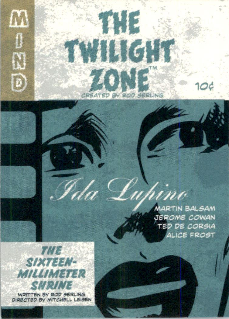 2019 Twilight Zone Rod Serling Edition Twilight Zone Portfolio Prints The Serling Episodes #J4 The Sixteen-Millimeter Shrine