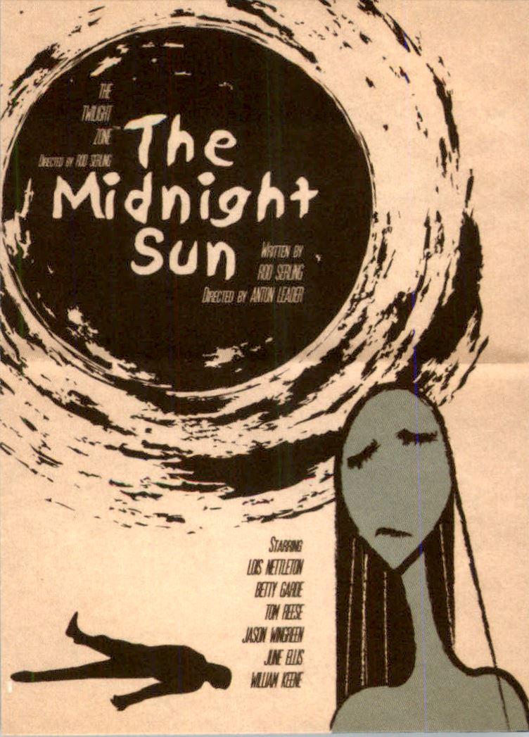 2019 Twilight Zone Rod Serling Edition Twilight Zone Portfolio Prints The Serling Episodes #J55 The Midnight Sun