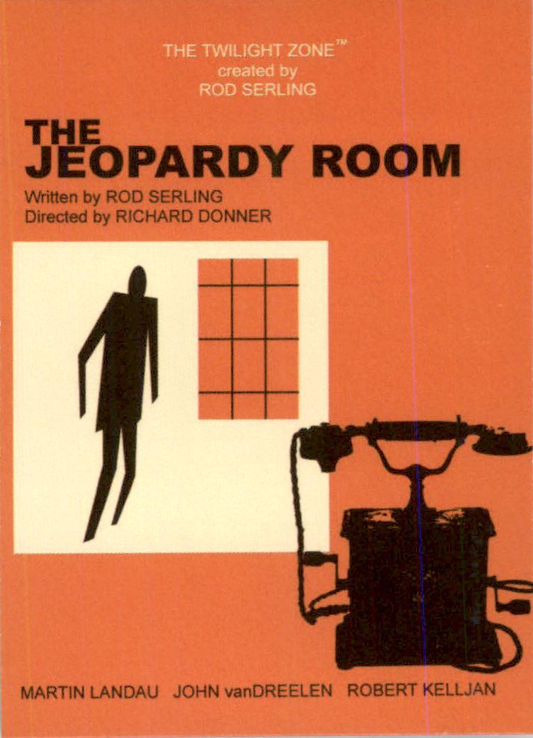 2019 Twilight Zone Rod Serling Edition Twilight Zone Portfolio Prints The Serling Episodes #J89 The Jeopardy Room