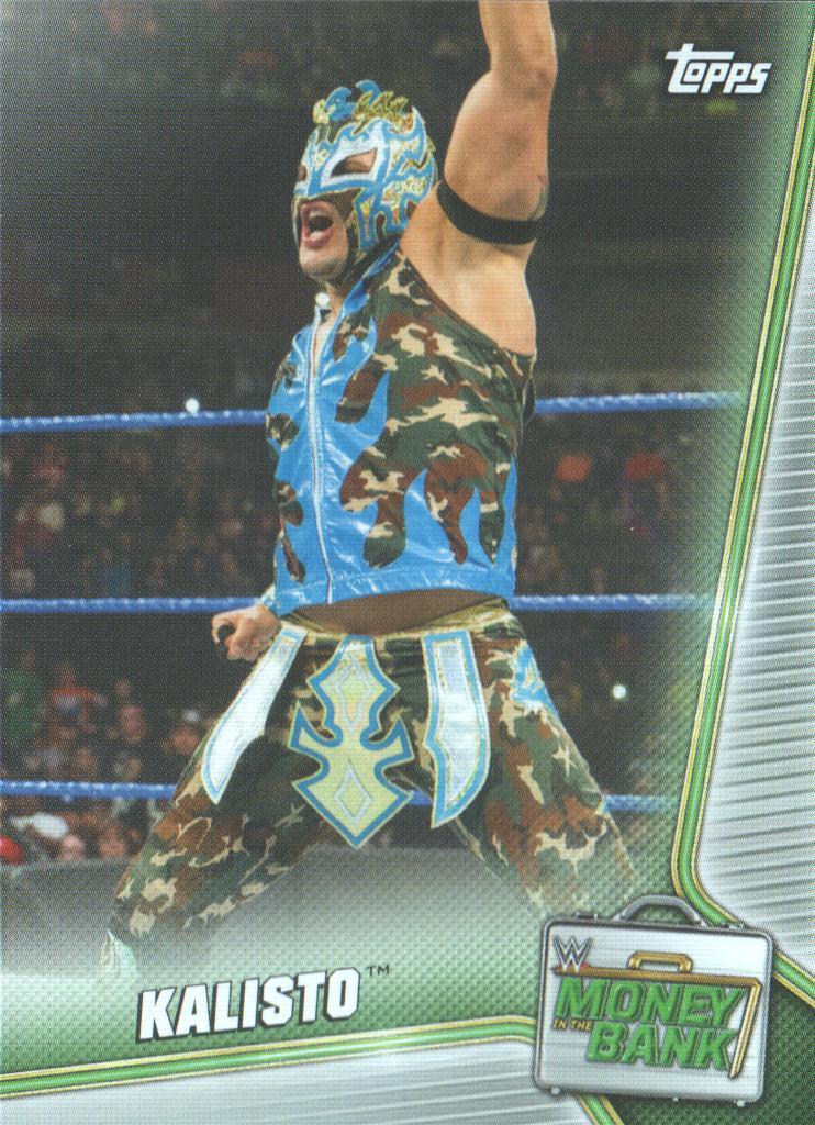 2019 Topps WWE Money in the Bank Bronze #8 Asuka Wrestling Trading Card