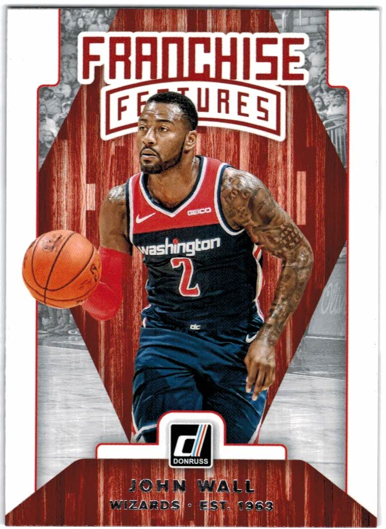 2019-20 Donruss Franchise Features #6 John Wall