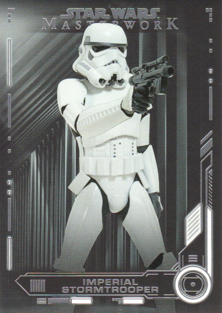 Star Wars Masterwork 2016 Base Card #14 Imperial Stormtroopers