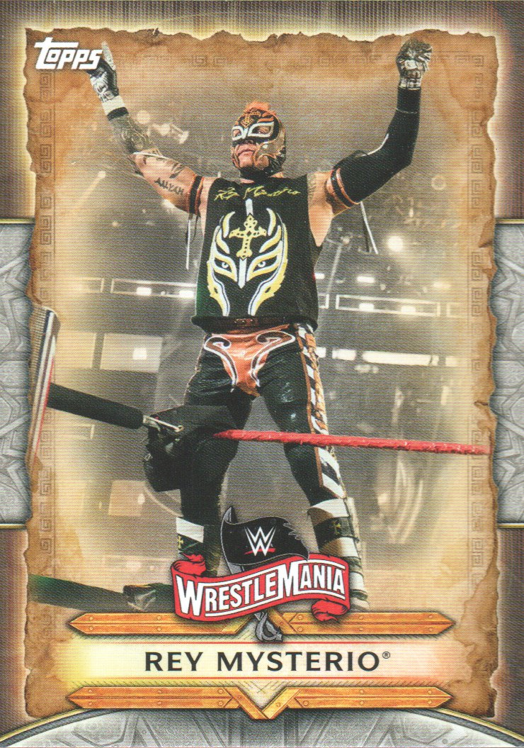 2020 wwe road to wrestlemania roster trading card wm39