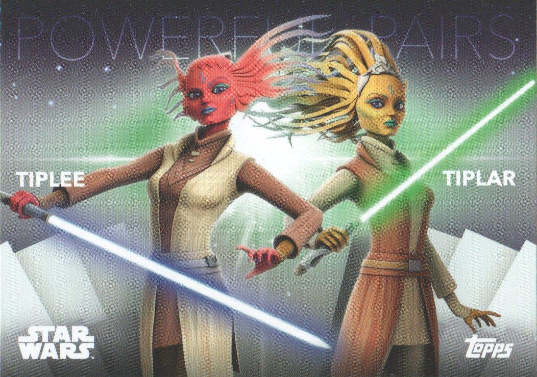 2020 Women of Star Wars Powerful Pair #PP-14 Tiplee