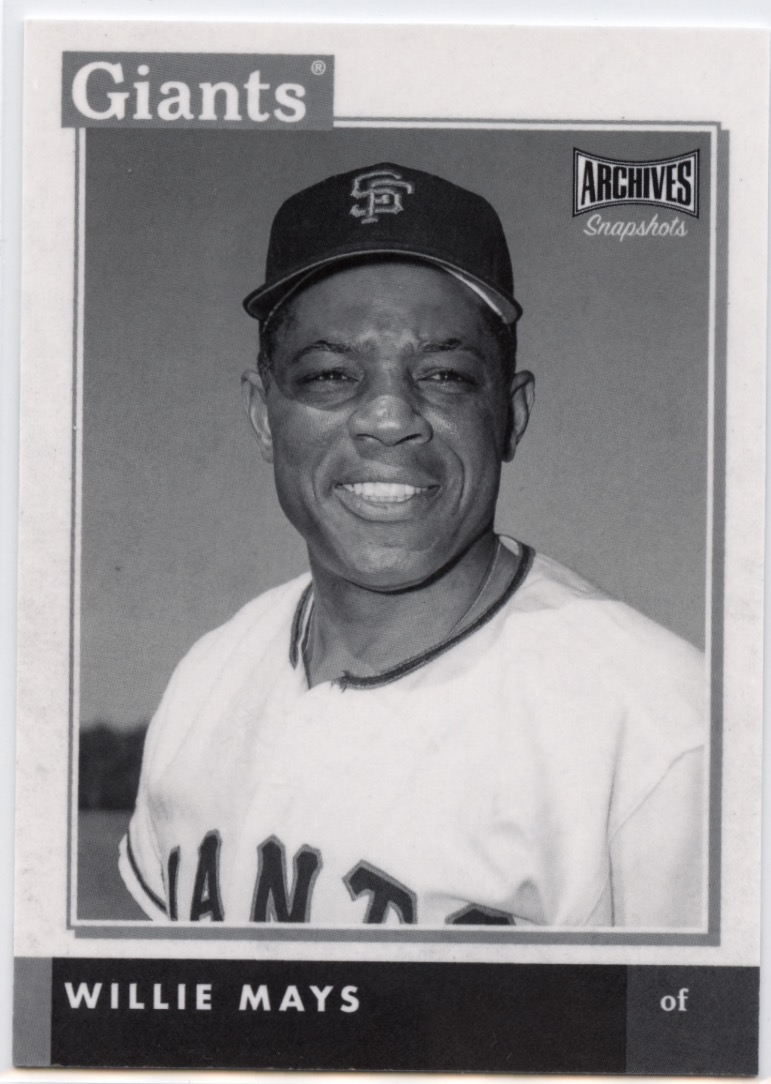 2020 Topps Archives #297 Willie Mays