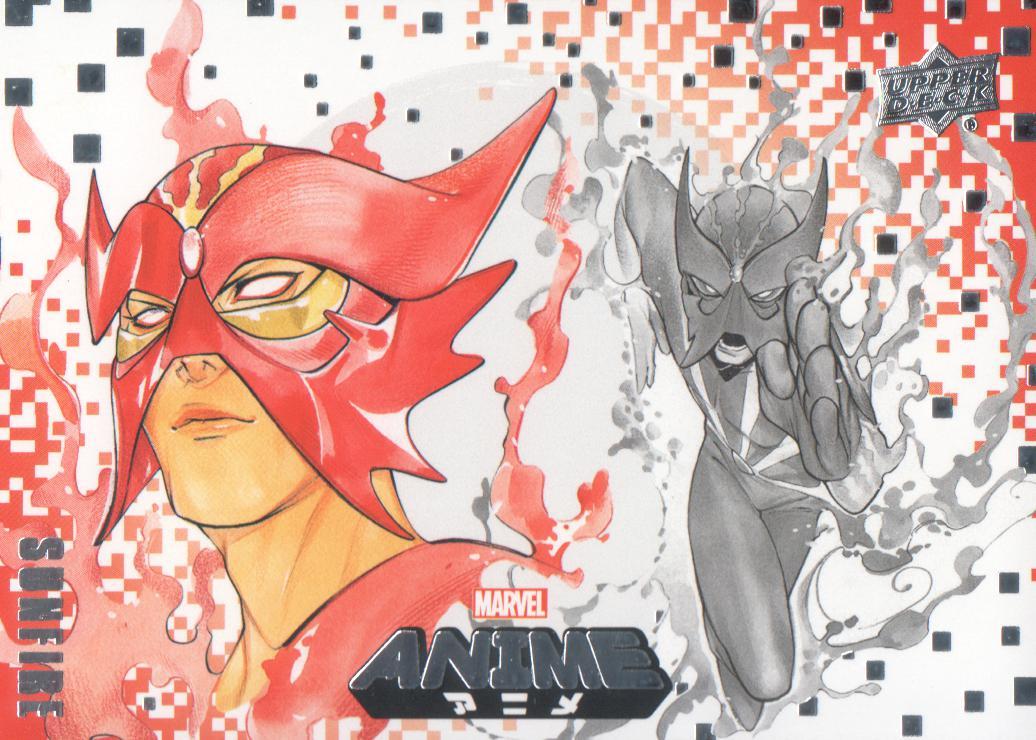 2020 Marvel Anime Trading Card #77 Havok