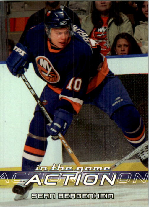 2003-04 ITG Action #614 Sean Bergenheim RC/291