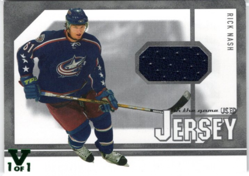 2003-04 ITG Used Signature Series Jerseys #38 Rick Nash