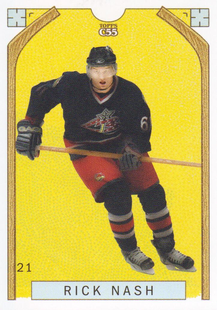 2003-04 Topps C55 #21B Rick Nash Full Length