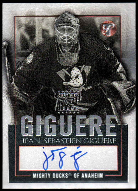 2003-04 Topps Pristine Autographs #PEJG Jean-Sebastien Giguere A