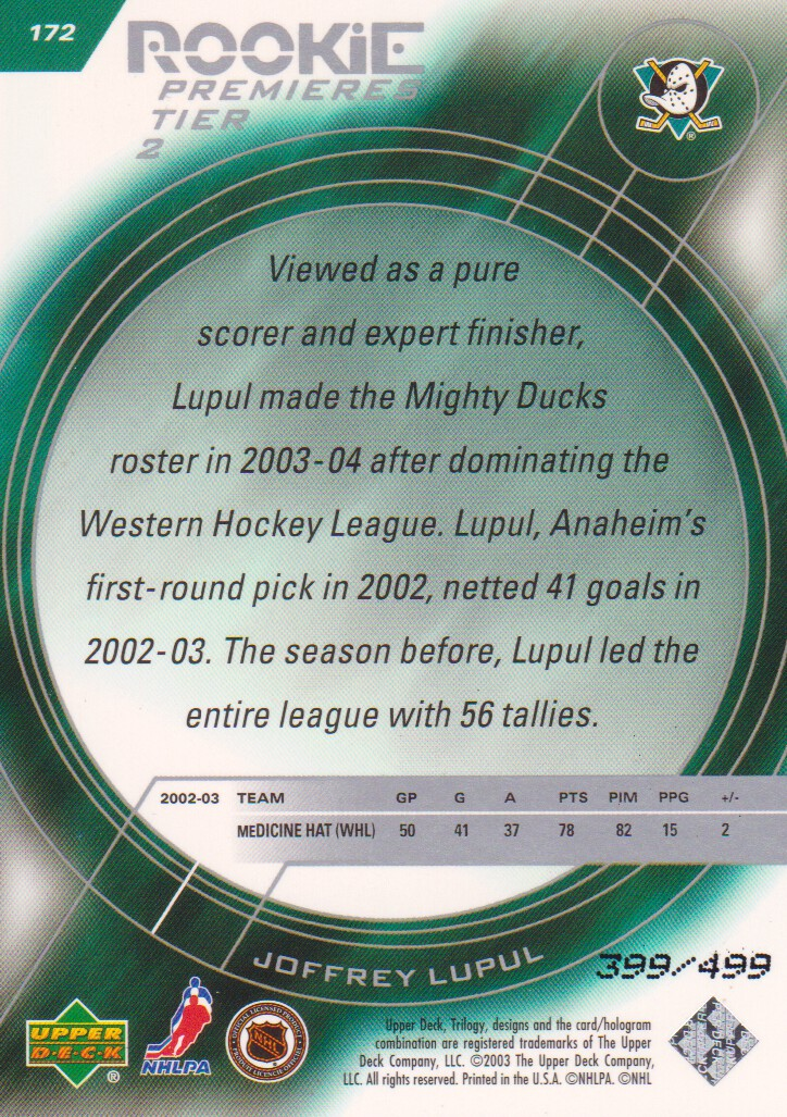 2003-04-Upper-Deck-Trilogy-Hockey-Cards-Pick-From-List thumbnail 179