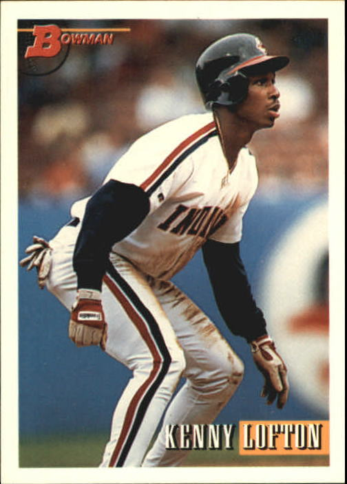 Details About 1993 Bowman Baseball Card 417 Kenny Lofton Indians R20831