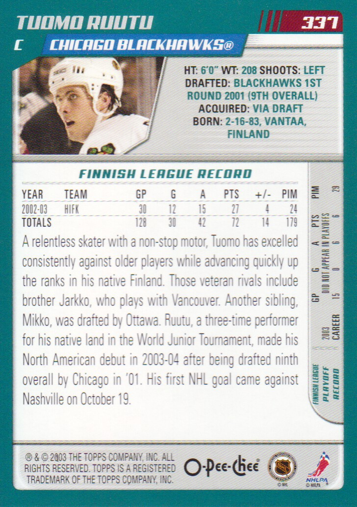 2003-04-O-Pee-Chee-OPC-Hockey-Cards-Pick-From-List thumbnail 15