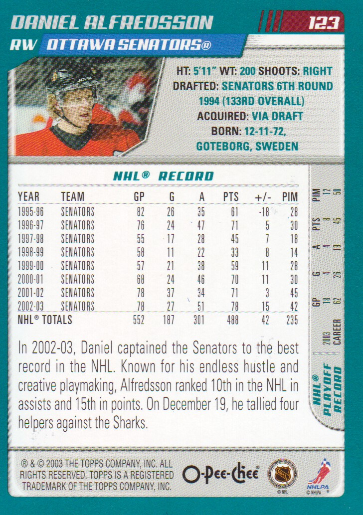 2003-04-O-Pee-Chee-OPC-Blue-Parallel-Hockey-Cards-Pick-From-List thumbnail 3