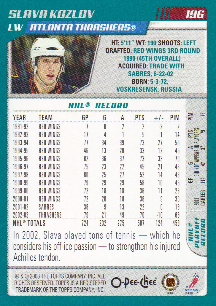 2003-04-O-Pee-Chee-OPC-Blue-Parallel-Hockey-Cards-Pick-From-List thumbnail 7