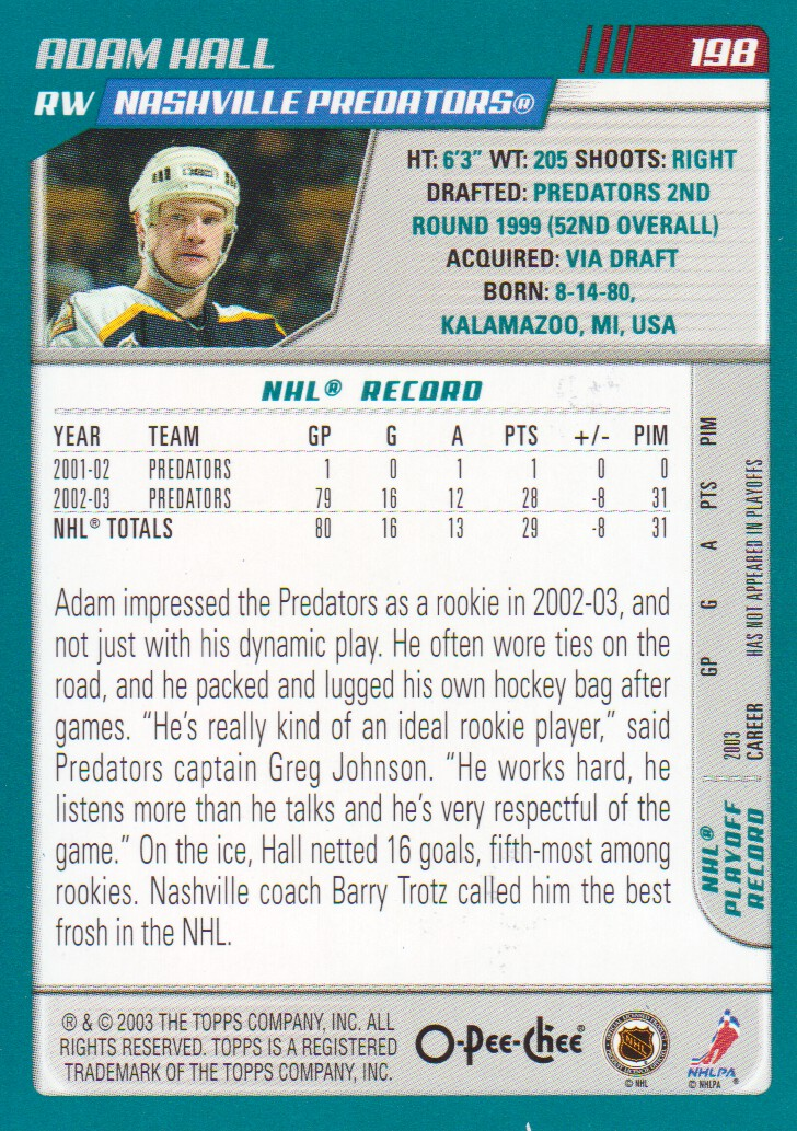 2003-04-O-Pee-Chee-OPC-Blue-Parallel-Hockey-Cards-Pick-From-List thumbnail 11