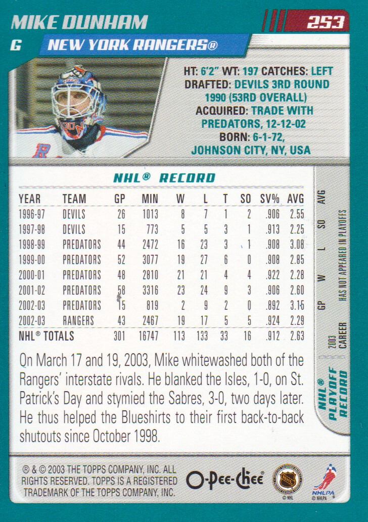2003-04-O-Pee-Chee-OPC-Blue-Parallel-Hockey-Cards-Pick-From-List thumbnail 21