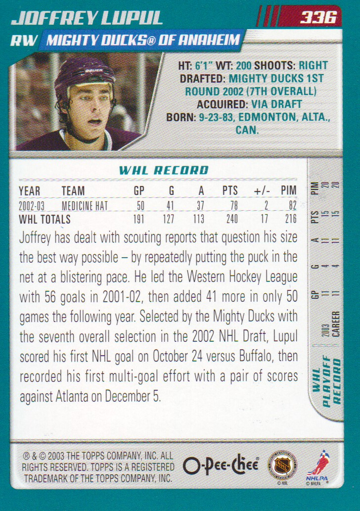 2003-04-O-Pee-Chee-OPC-Blue-Parallel-Hockey-Cards-Pick-From-List thumbnail 35