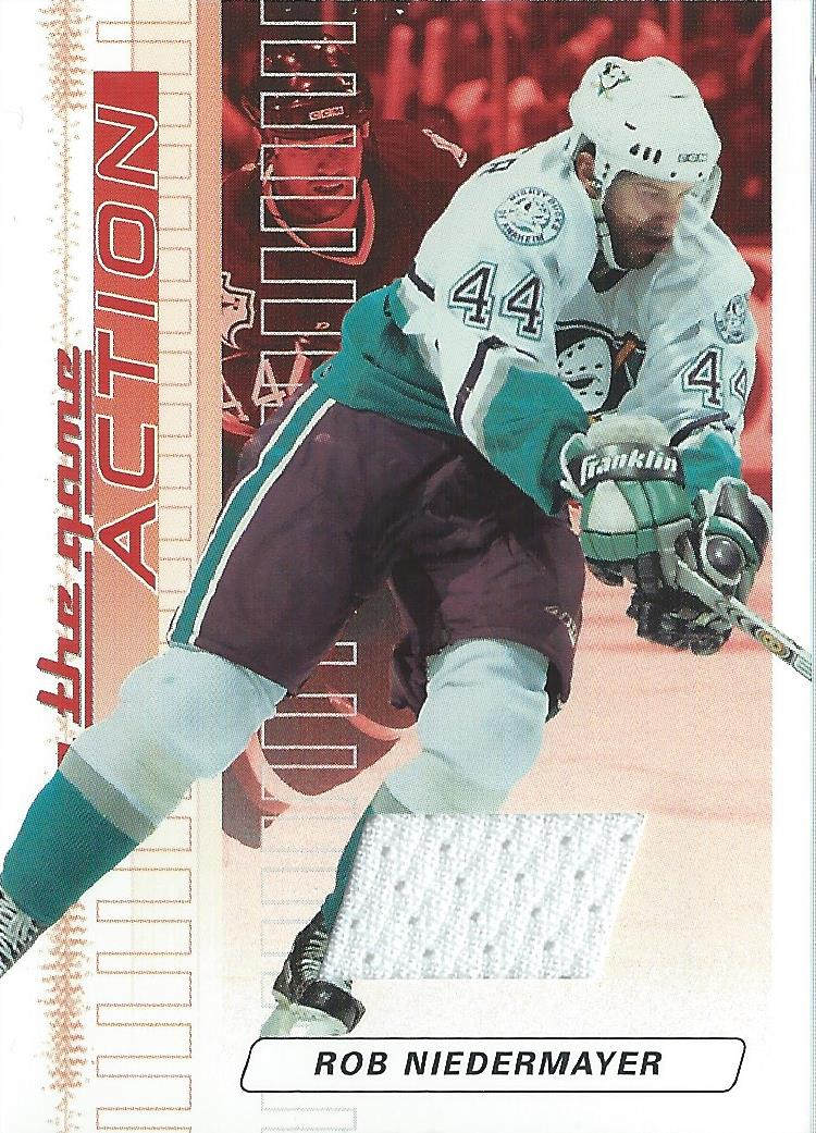 2003-04 ITG Action Jerseys #M56 Rob Niedermayer