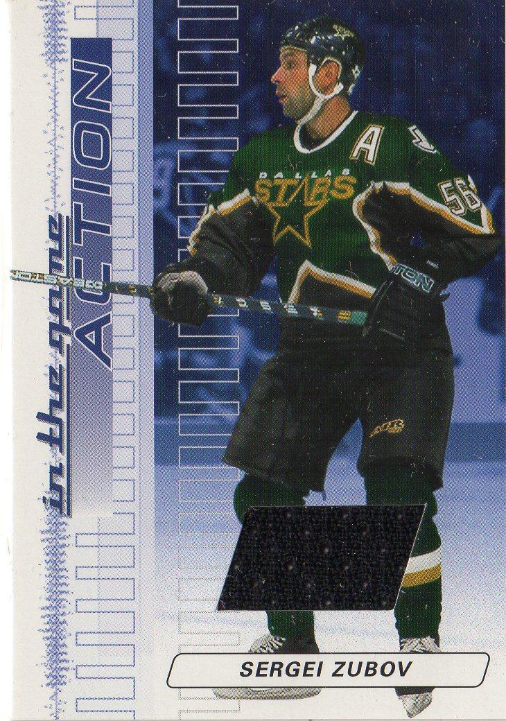 2003-04 ITG Action Jerseys #M120 Sergei Zubov