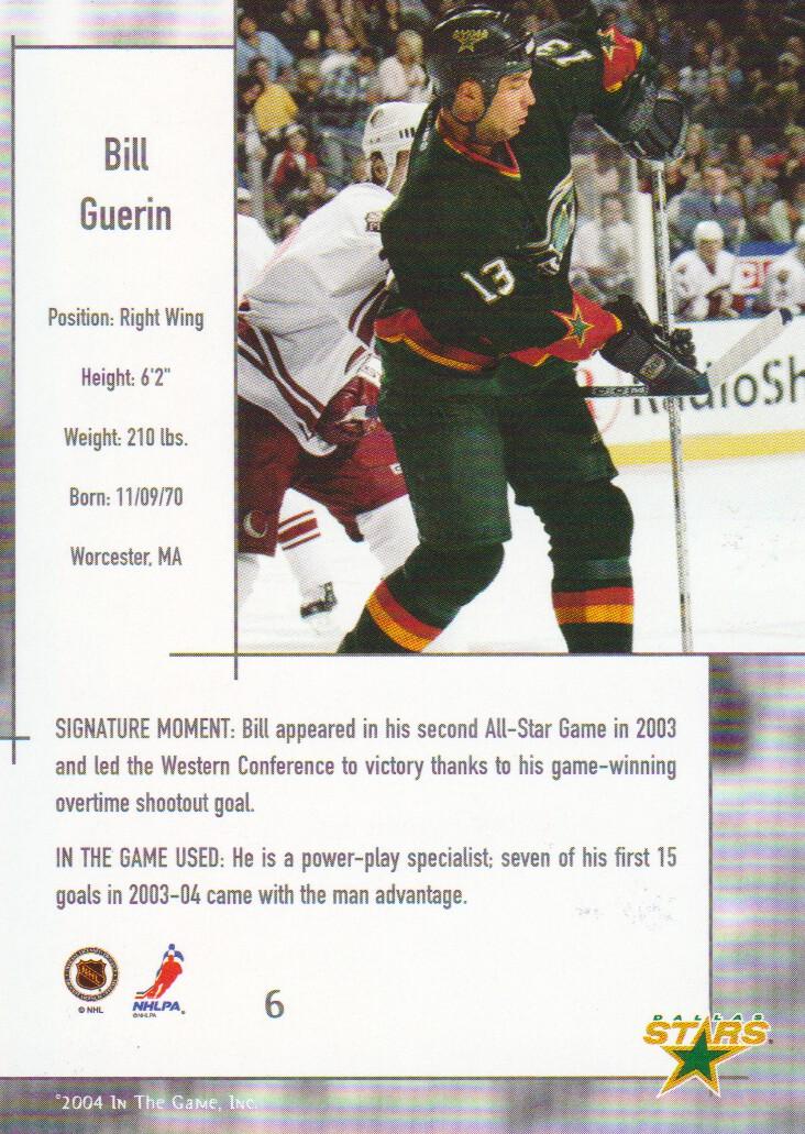 2003-04-ITG-Used-Signature-Series-Hockey-Cards-Pick-From-List miniature 3