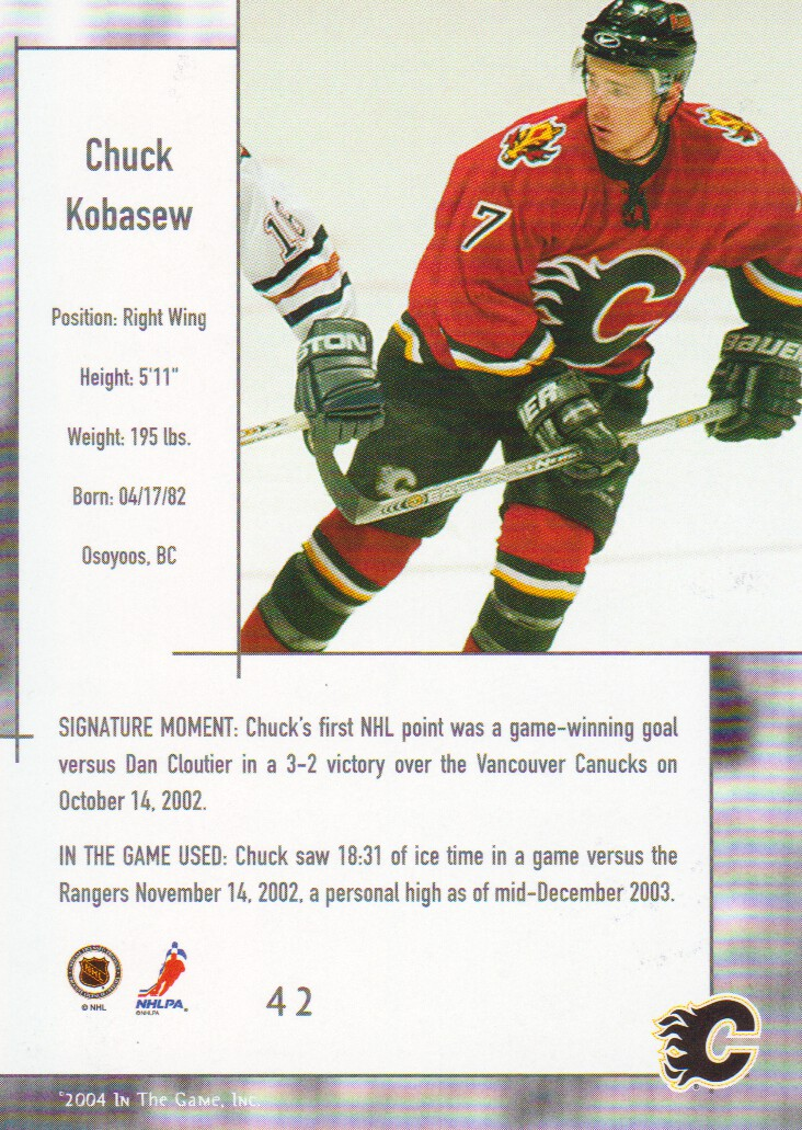 2003-04-ITG-Used-Signature-Series-Hockey-Cards-Pick-From-List miniature 5