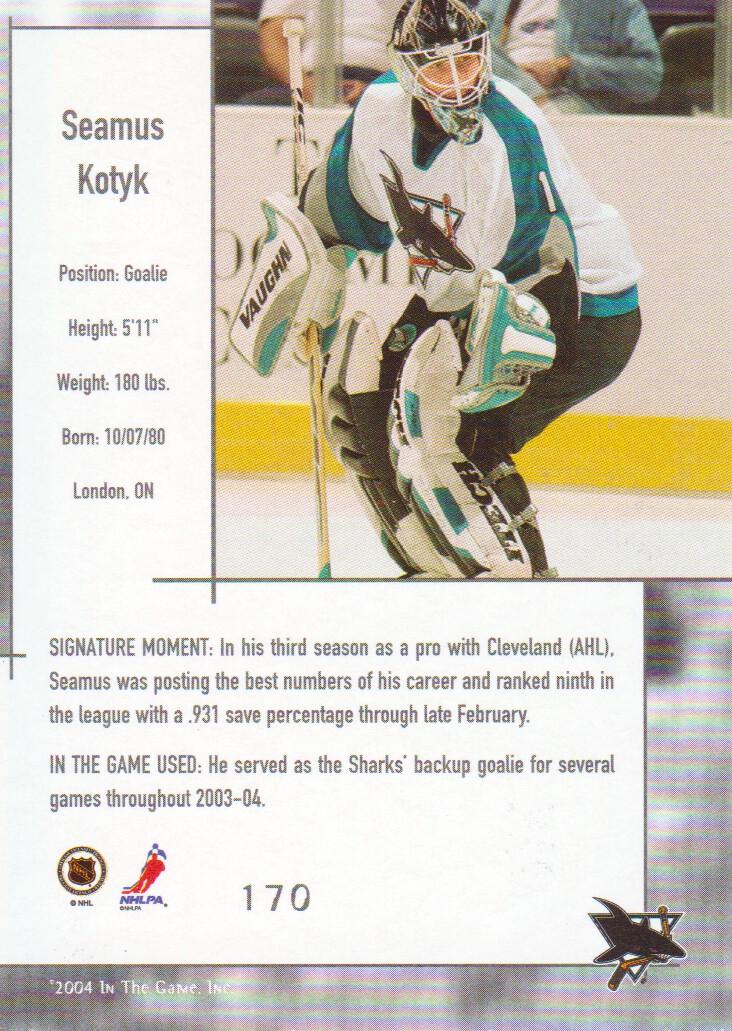2003-04-ITG-Used-Signature-Series-Hockey-Cards-Pick-From-List miniature 13