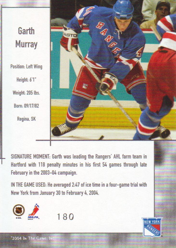 2003-04-ITG-Used-Signature-Series-Hockey-Cards-Pick-From-List miniature 17
