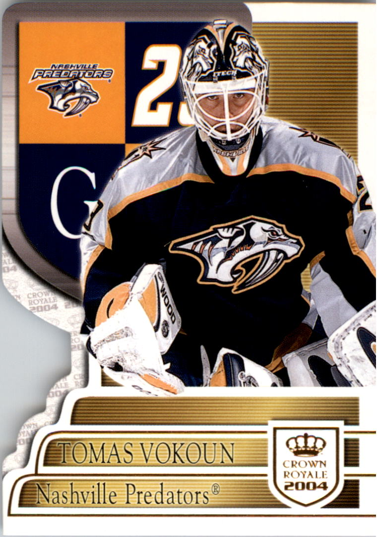 2003-04 Crown Royale #58 Tomas Vokoun