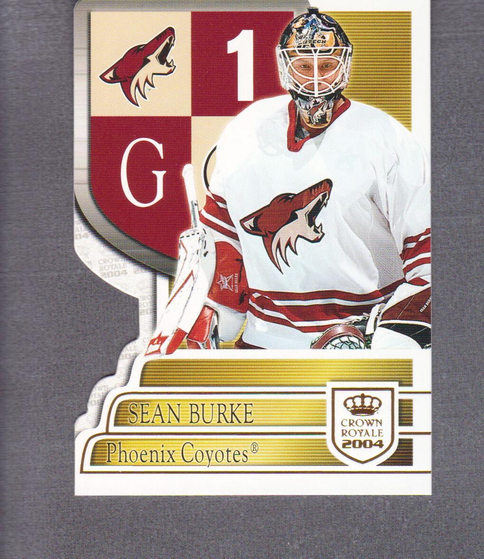 2003-04 Crown Royale Hockey #77 Sean Burke | eBay