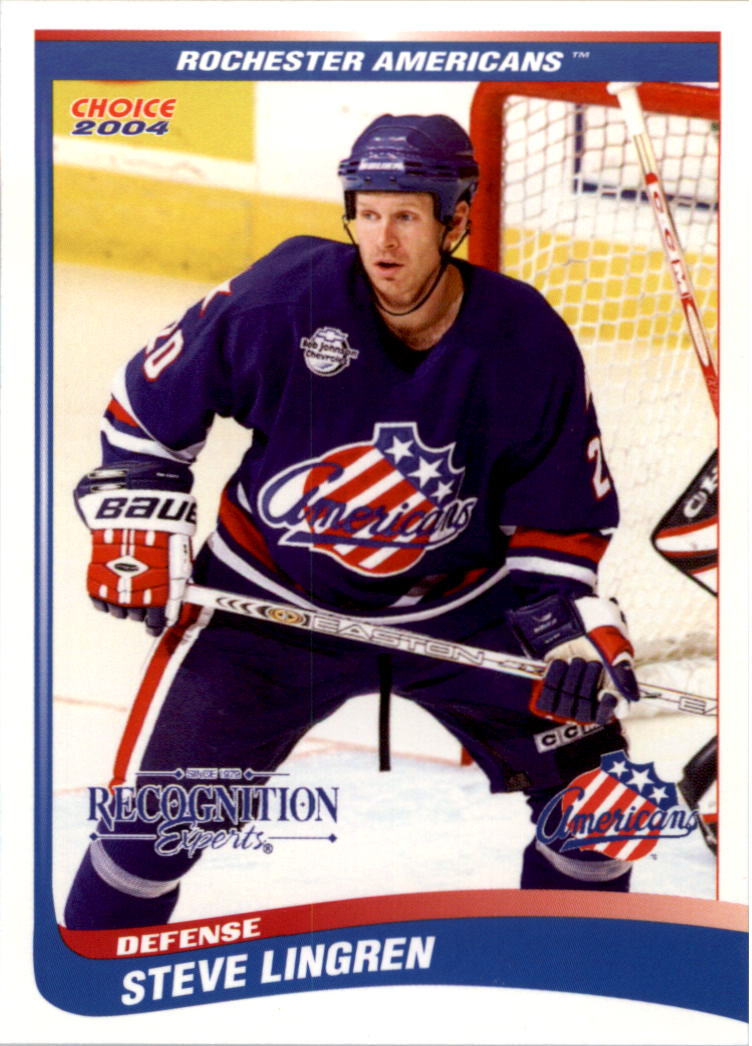 2003-04-Rochester-Americans-Hockey-Card-Pick