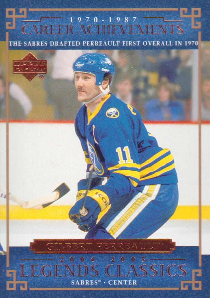 2004-05 UD Legends Classics #73 Gilbert Perreault