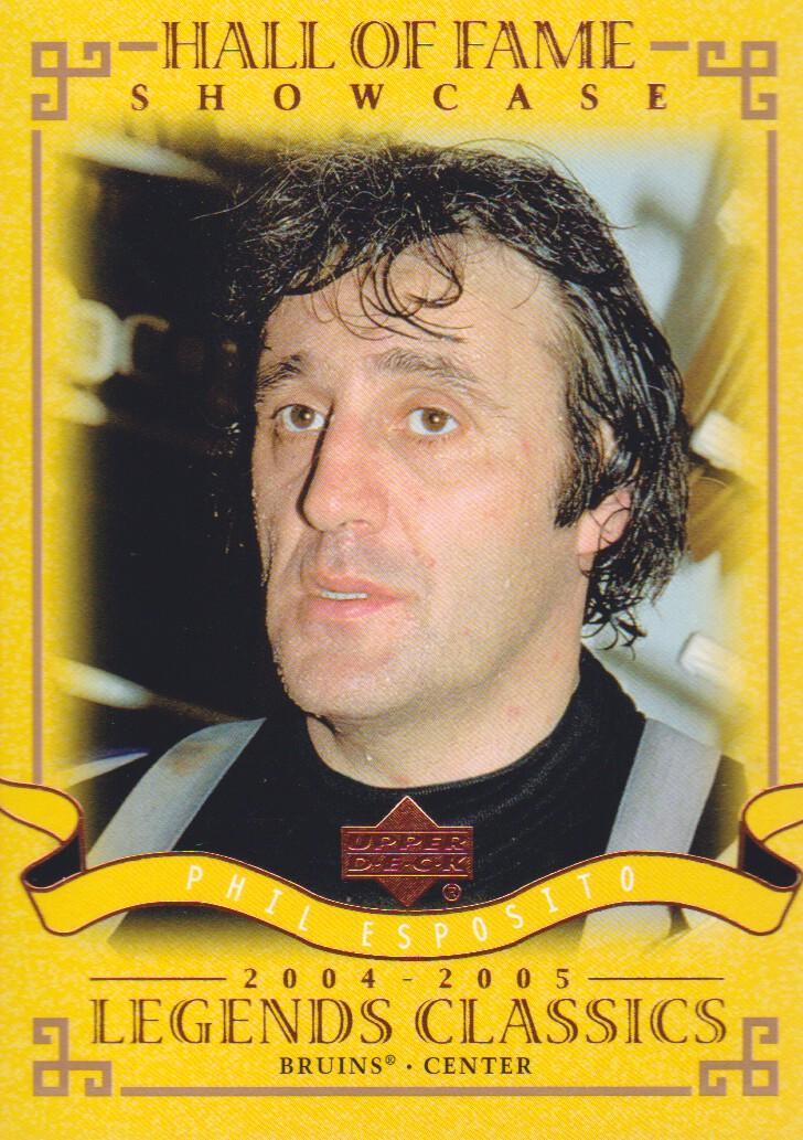 2004-05 UD Legends Classics #96 Phil Esposito
