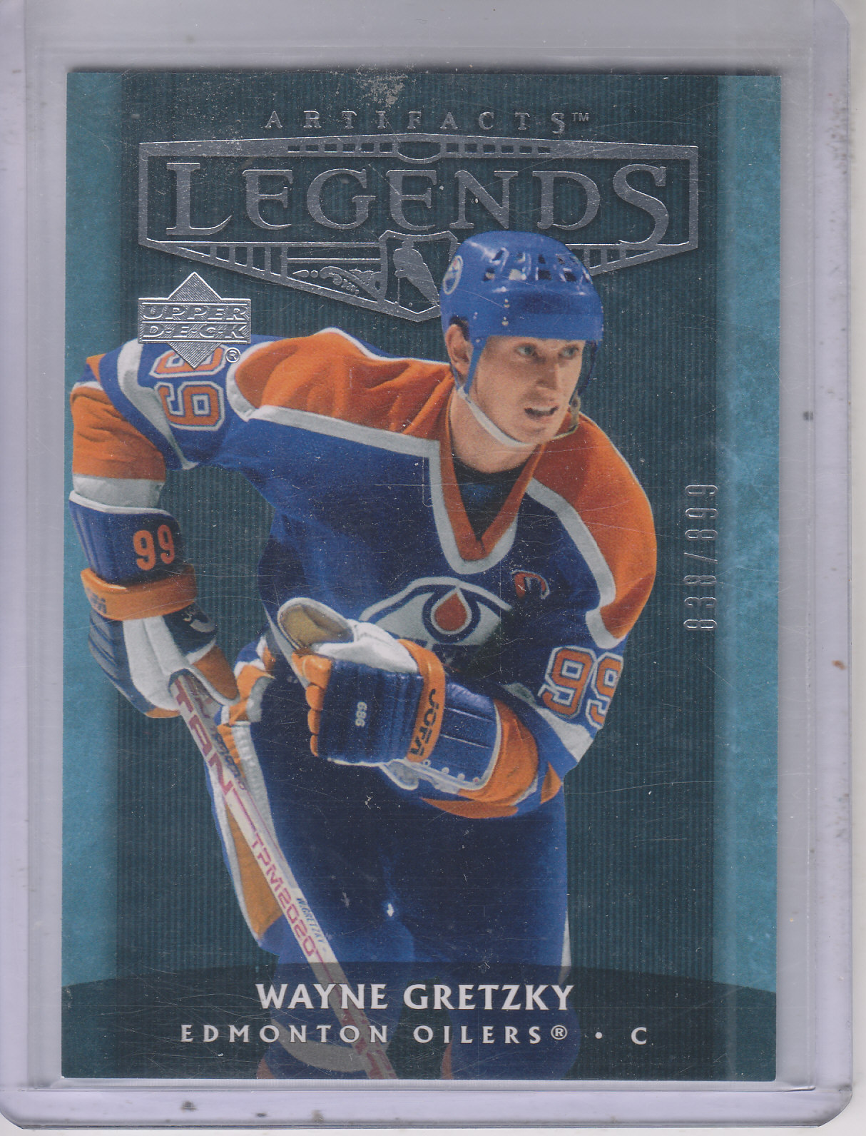 2005-06 Artifacts #113 Wayne Gretzky AL