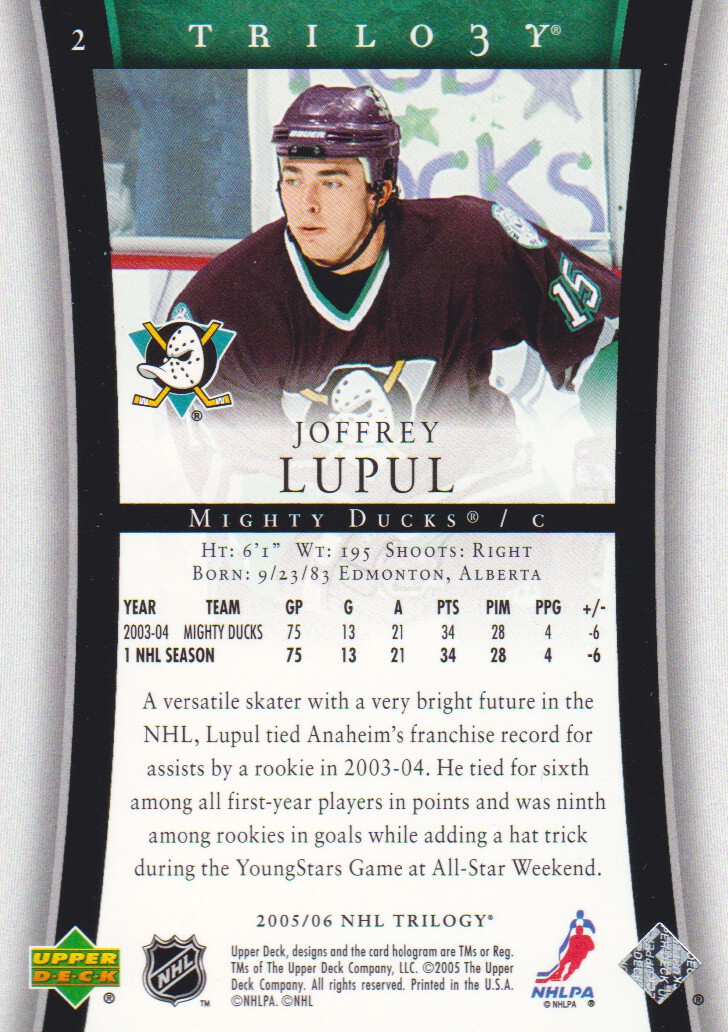2005-06-Upper-Deck-Trilogy-Hockey-Cards-Pick-From-List thumbnail 3