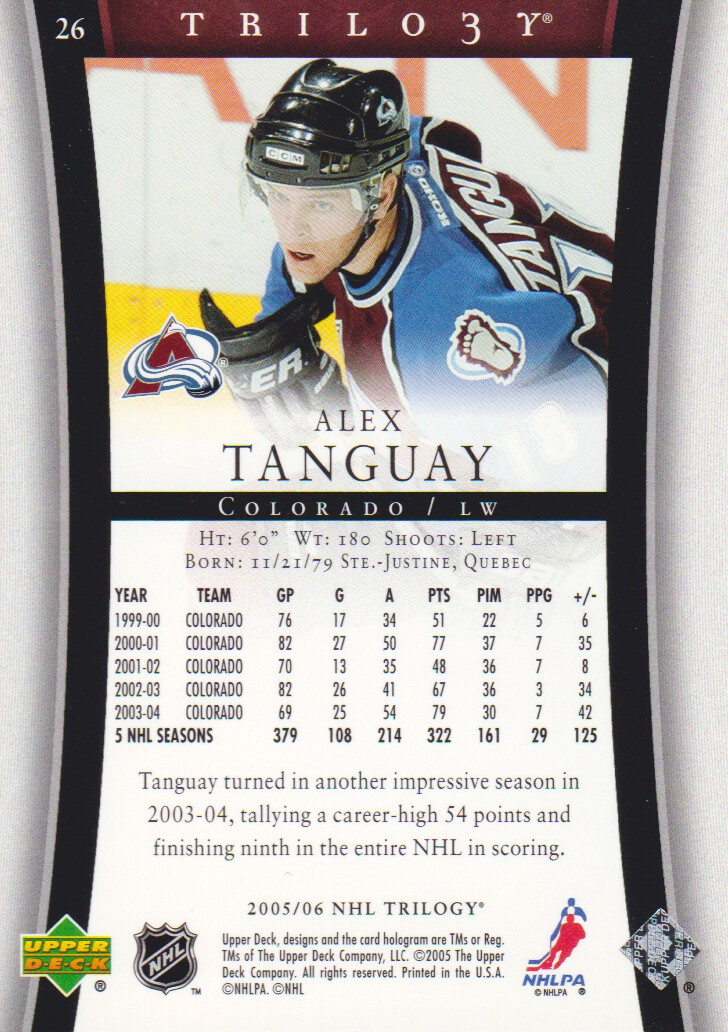 2005-06-Upper-Deck-Trilogy-Hockey-Cards-Pick-From-List thumbnail 19
