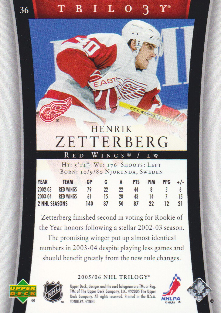 2005-06-Upper-Deck-Trilogy-Hockey-Cards-Pick-From-List thumbnail 25