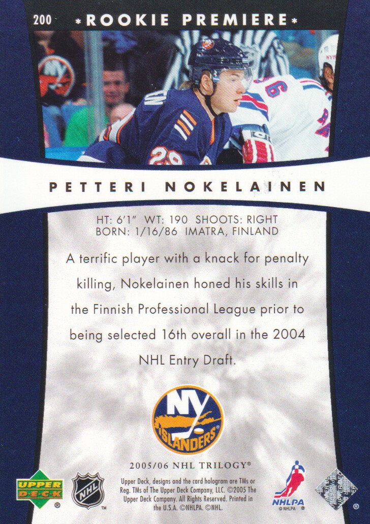 2005-06-Upper-Deck-Trilogy-Hockey-Cards-Pick-From-List thumbnail 57
