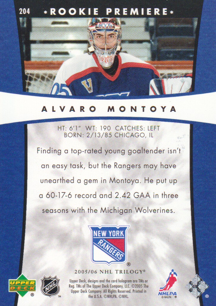 2005-06-Upper-Deck-Trilogy-Hockey-Cards-Pick-From-List thumbnail 59